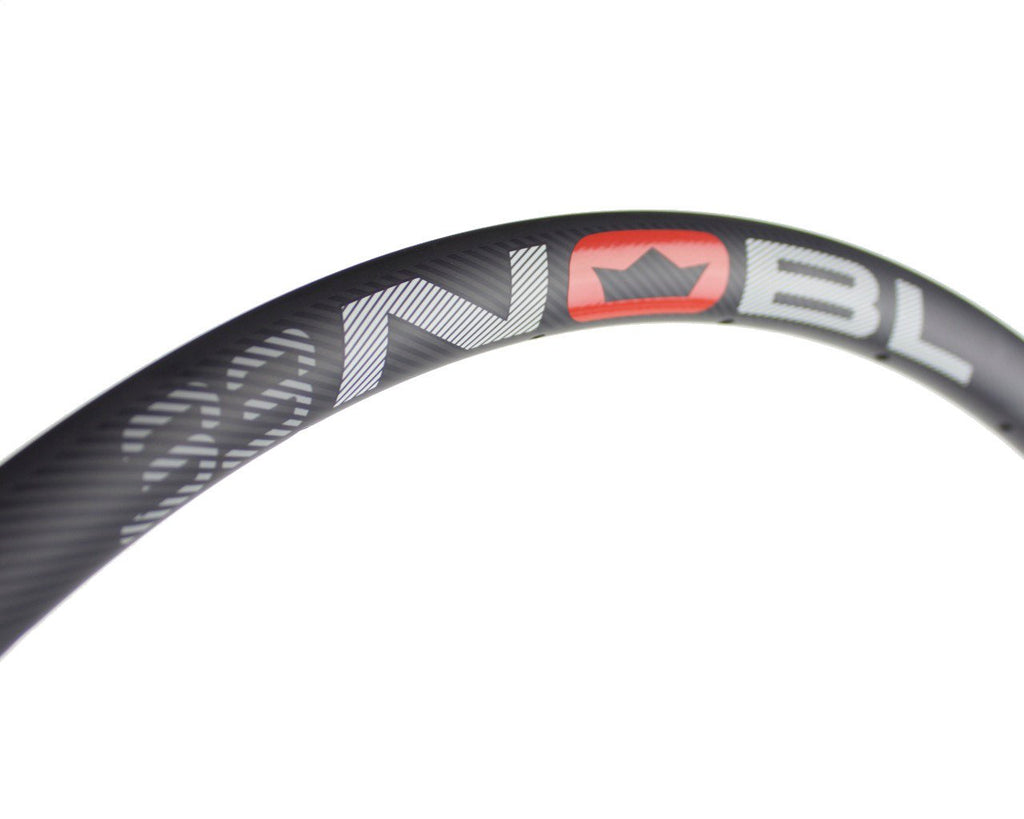 "NOBL Wheels TR33 65B/27.5"" Carbon Tubeless Mountain Rim"