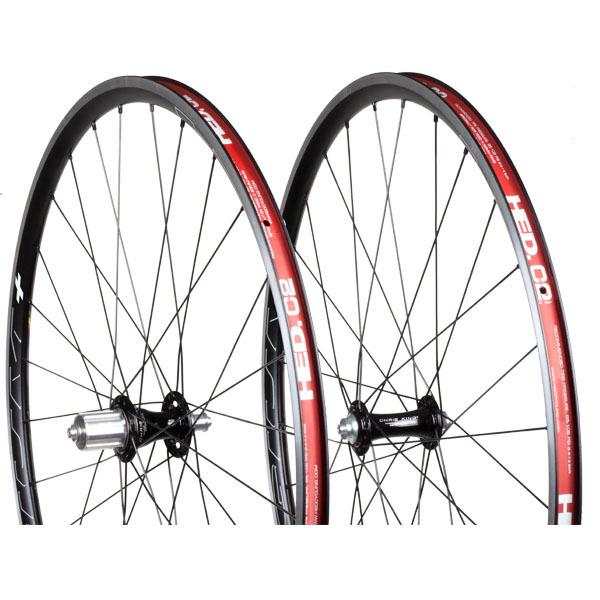 Chris King Built Wheelset - HED Belgium Plus R45 28/28