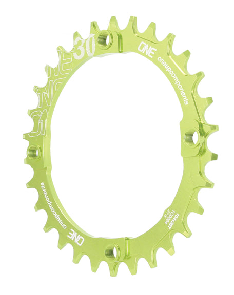 OneUp Components 104 Round Chainring, 104BCD 30T - Black