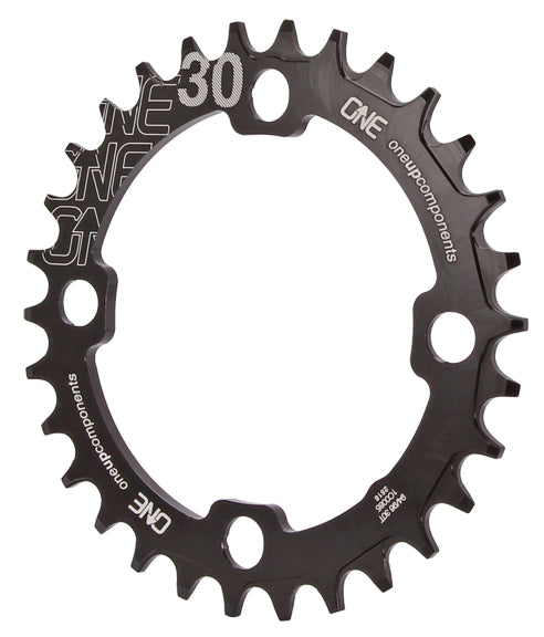 OneUp Components 94/96 Round Chainring, 94/96BCD 30T Black