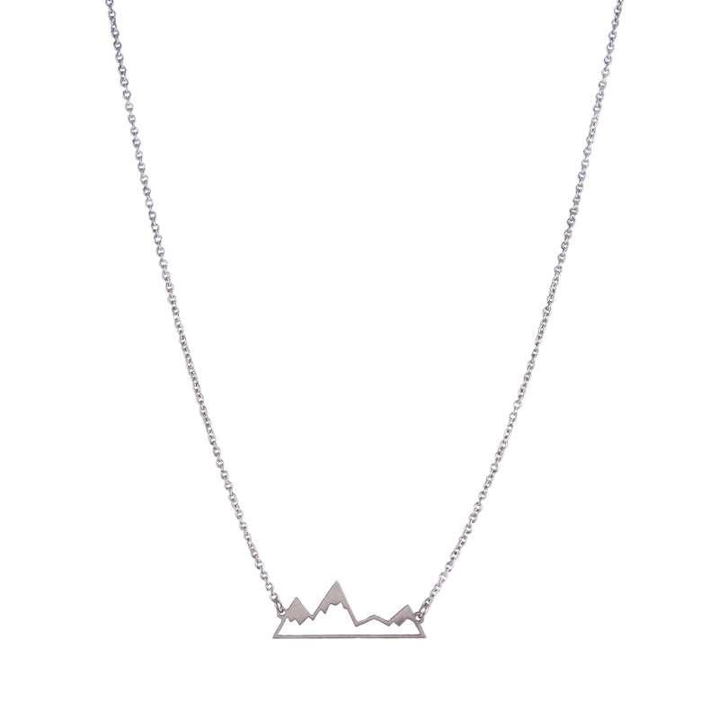 Collier montagne argent silver Mountain necklace