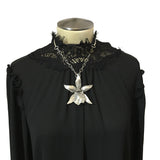 Chase and Scout Bat Orchid Collar Necklace