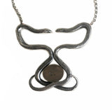Listing for Sonia Twin Sisters Double Snake Necklace