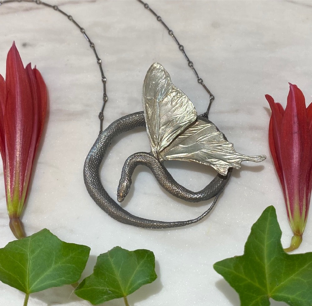 Impossible Possibilities Winged Serpent Pendant September Release