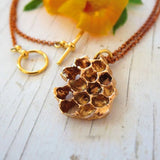 austin-handmade-honeycomb-necklace