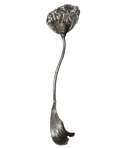 Sterling Poppy Spoon