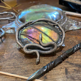 Double Snake Infinite Knot Pendant May Release