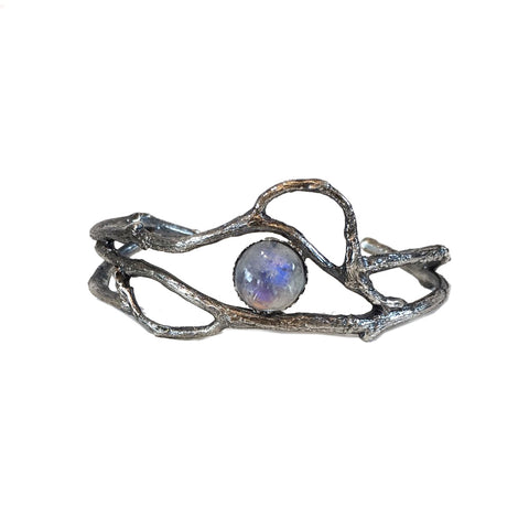 Twig and Vine Cuff, Moonstone
