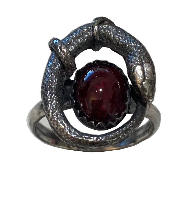 Petite Orphic Egg Ring with stone choice