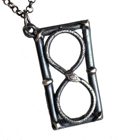 Infinite Hourglass Necklace - Only Lovers Left Alive