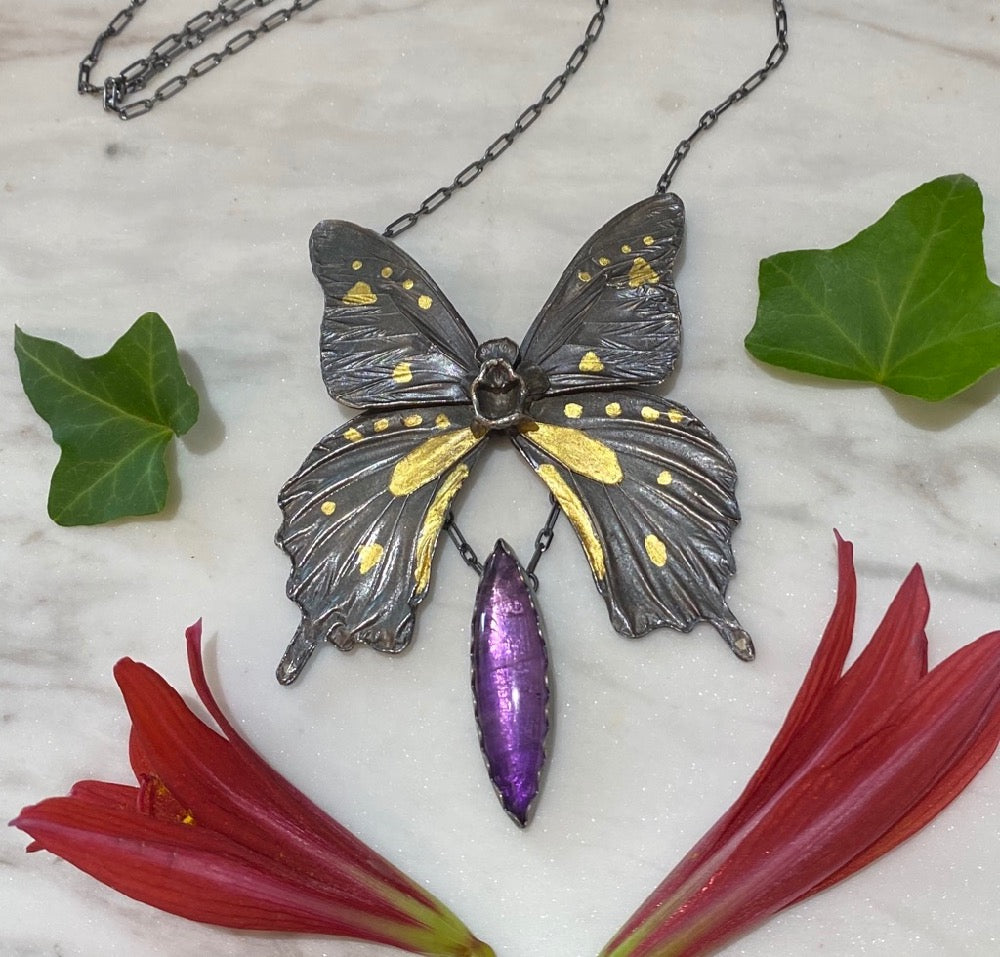 Shriek of the Butterfly Pendant September Release