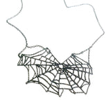 necklace-spiderweb-silver-spider