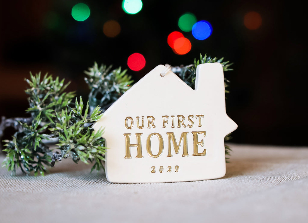 First Home Christmas Ornament - Our First Home 2020 - SHIPS FAST - Gift Boxed and Ready to Give