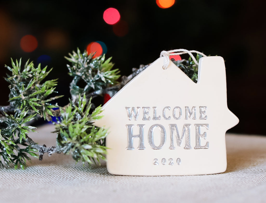 Welcome Home Christmas Ornament - Welcome Home 2020 - SHIPS FAST - Gift Boxed and Ready to Give