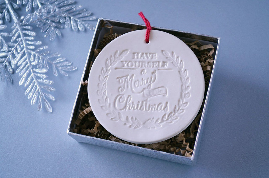 Have Yourself a Merry Little Christmas Ornament - SHIPS FAST - Gift Boxed