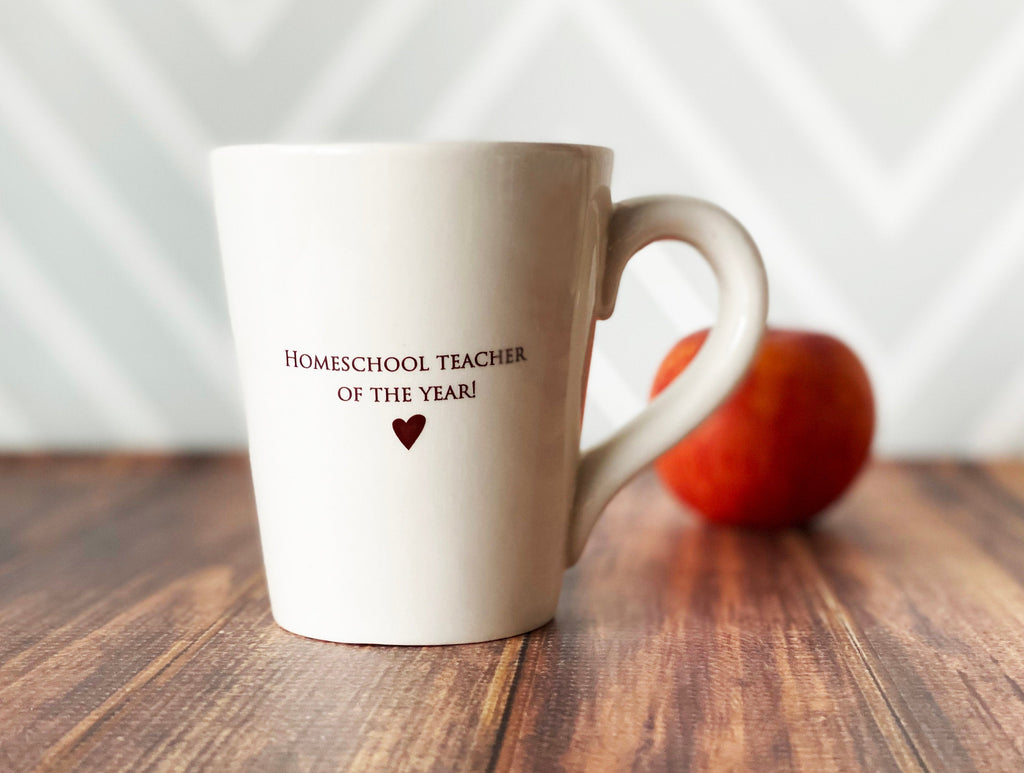Mother's Day Gift, Homeschool Teacher of the Year Mug, Funny Gift for Mom