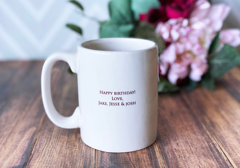 Personalized Mama Bear Mug, Mama Bear Gift, Gift for Mom, Mom Gift, New Mom Gift Idea - Coffee Mug