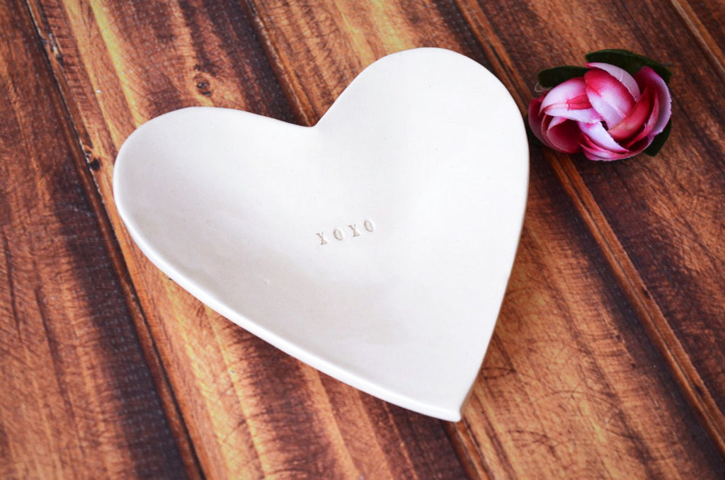 XOXO Gift- Heart Bowl - SHIPS FAST - Gift Packaged