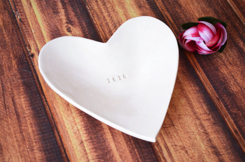 XOXO Gift- Heart Bowl - Gift Packaged