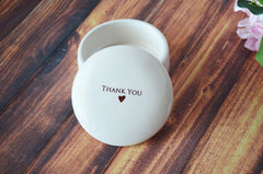 Thank You Gift - SHIPS FAST - Thank You For Your Hospitality Keepsake Box - With Gift Box