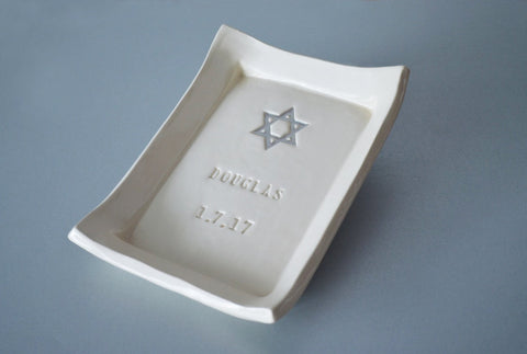 Baptism Gift, Christening Gift or First Communion Gift - Personalized Miniature Platter