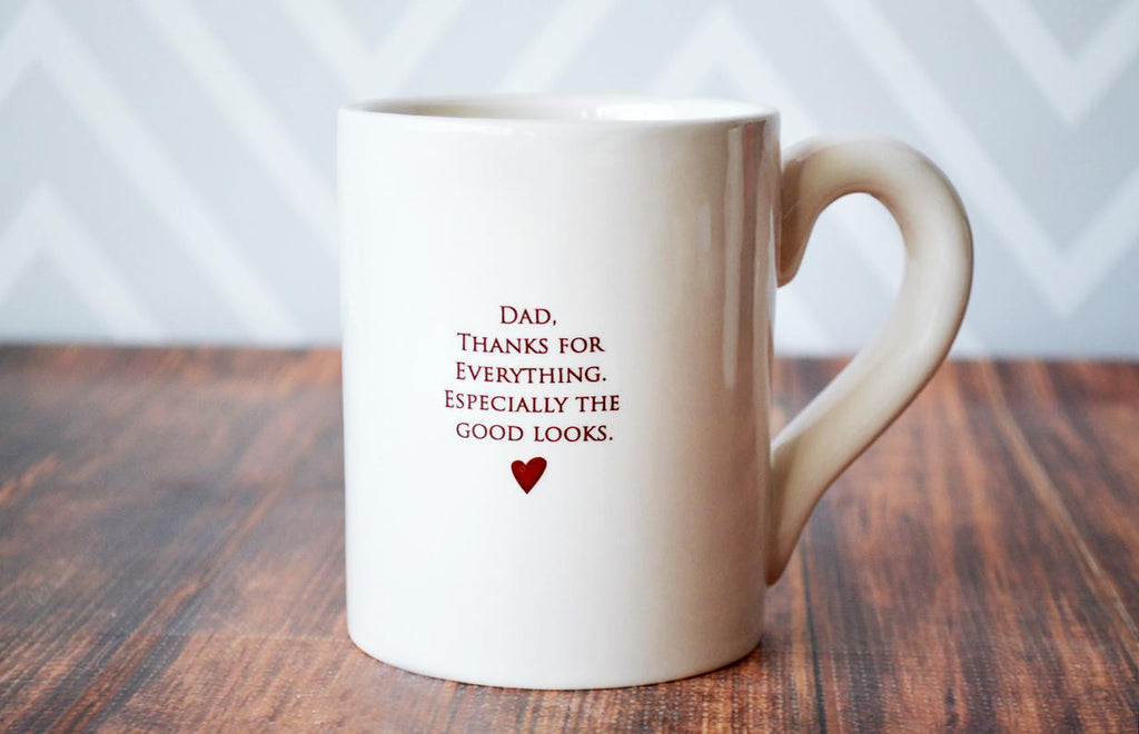 Dad, Thanks For Everything... Funny Father's Day Gift - SHIPS FAST - Large Coffee Mug