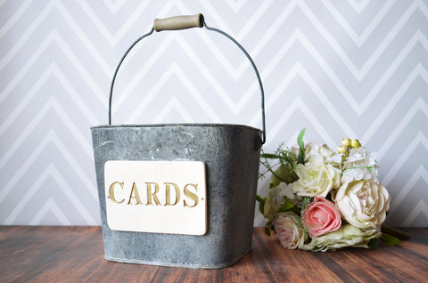 Wedding Card Bucket