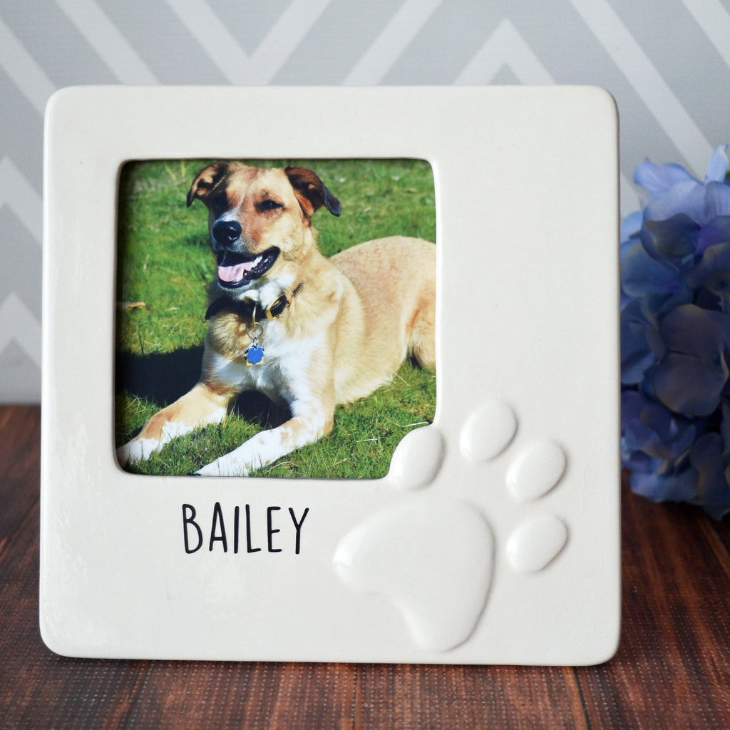 Personalized Dog Gift - Pet Gift - Dog Gift For Owners - Dog Frame - Dog Gift Idea- Pet Sympathy Gift - Personalized Frame - Gift Boxed