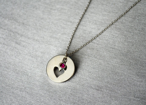 Lilac Stone Necklace, February Birthstone Necklace, Aquarius Necklace, Bridesmaid Necklace, Birthstone Necklace, Custom Initial Necklace