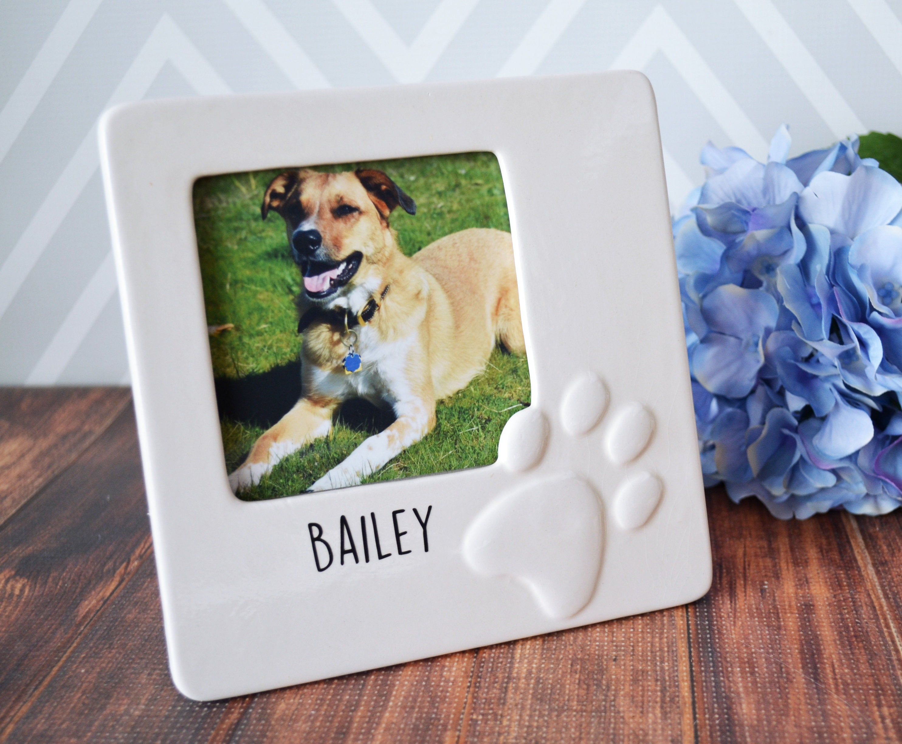 Personalized Dog Gift - Pet Gift - Dog Gift For Owners - Dog Frame ...
