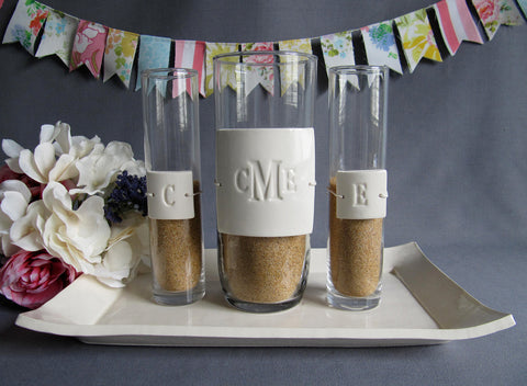 PERSONALIZED Unity Sand Ceremony Set - Gift Boxed
