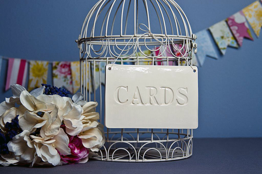 Cards Sign for Wedding Card Box - SHIPS FAST