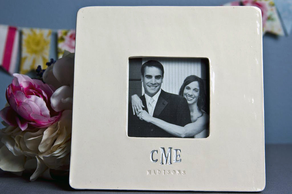 Personalized Frame - Engagement Gift, Wedding Gift, Anniversary Gift o