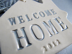 Personalized Christmas Ornament - Welcome Home 2016 - Gift Boxed and Ready to Give