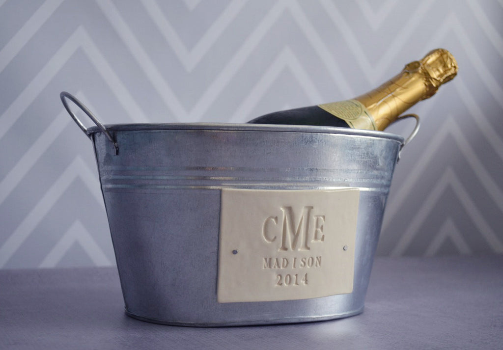 Personalized Wedding Gift - Champagne Bucket