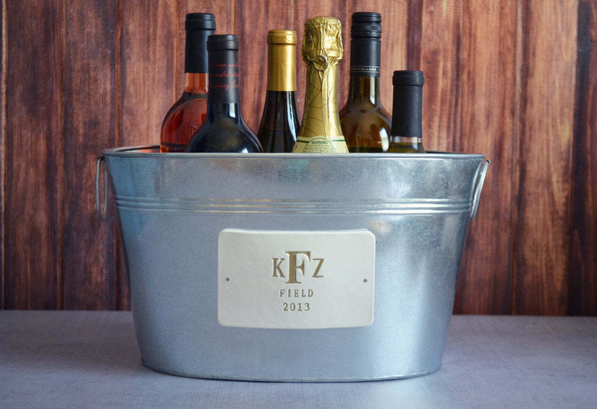 also using togethers or informal blogs get place our personalized tubs of friends news love with ice full burlap to tub and we a beverage southern table on use drinks bucket how for serving family your wine