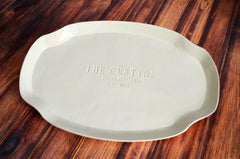 Custom Housewarming Platter with Address  - Gift boxed