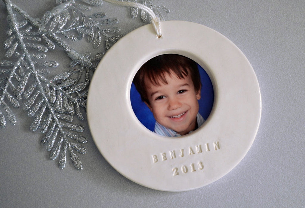 Personalized Picture Frame Christmas Ornament 2020 - Gift Boxed and Ready to Give