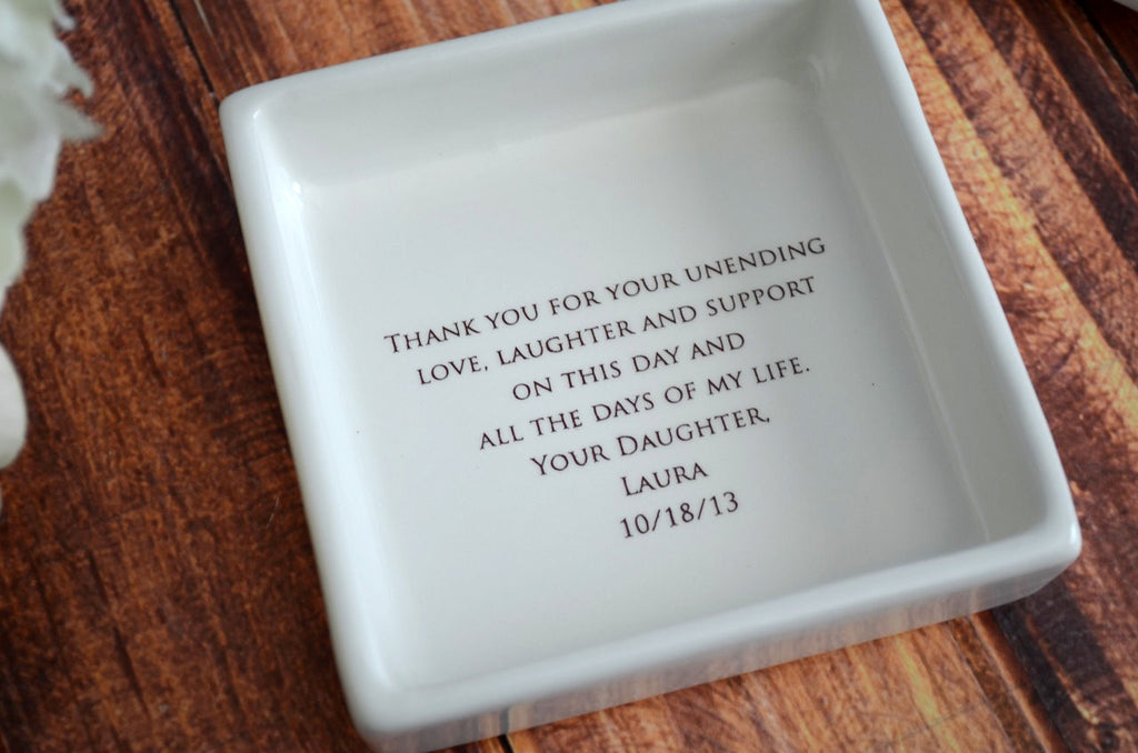 Unique Mother of the Bride Gift - Square Keepsake Box - As Long as I'm Living Your Baby I'll Be