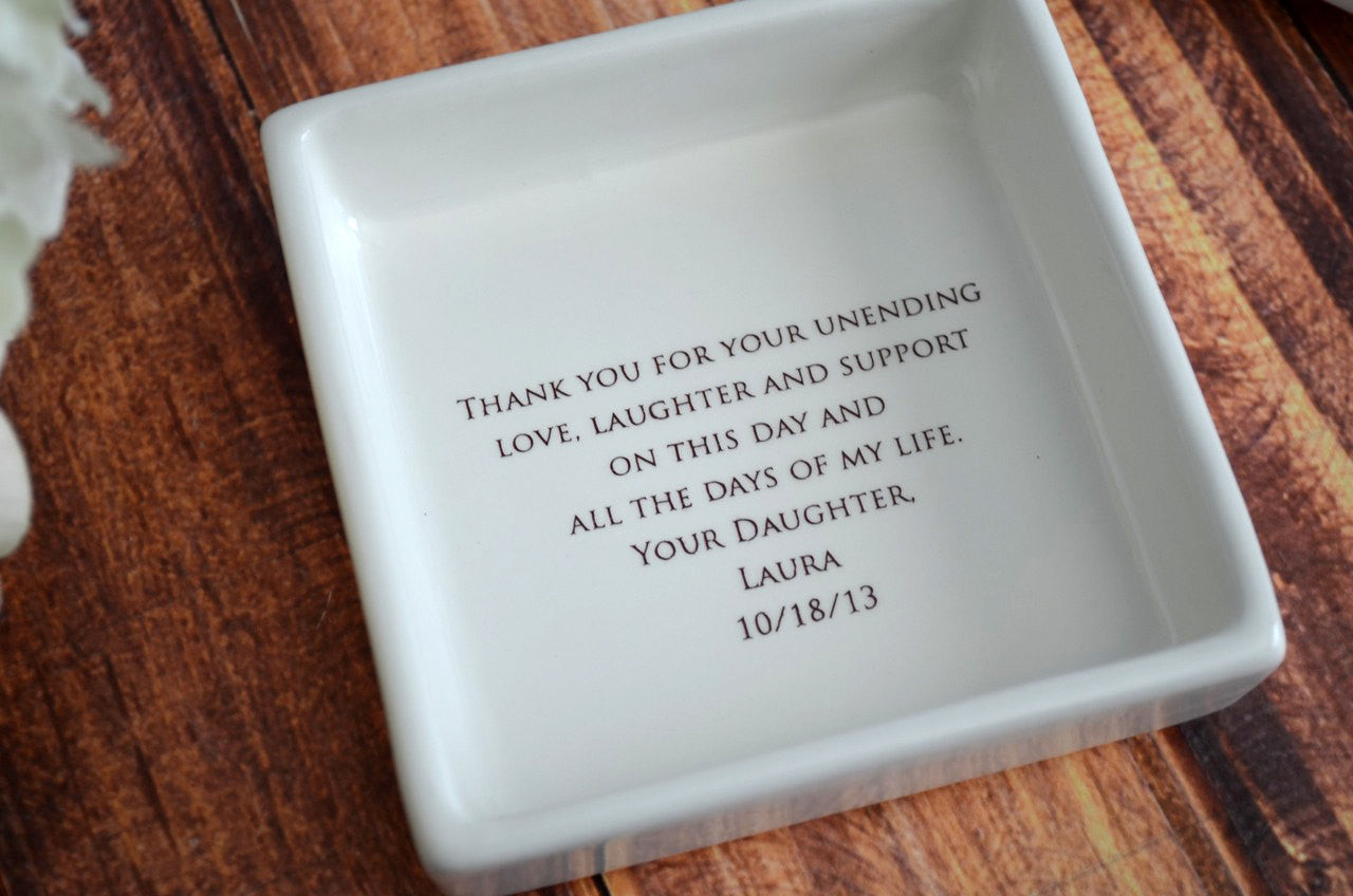 Unique Mother Of The Bride Gift Mom Square Keepsake Box With Gift Susabella