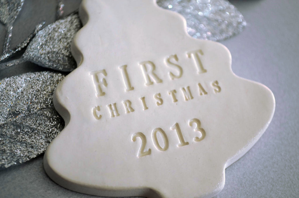First Christmas Tree Ornament - First Christmas 2020 - Gift Boxed