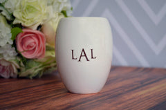 Bridesmaid or Mother of the Bride Gift - Personalized Vase - Gift Boxed and Ready to Give