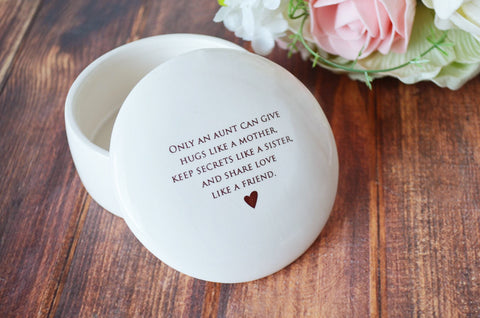 SHIPS FAST - Unique Mother of the Bride Gift - Round Keepsake Box - As Long as I'm Living Your Baby I'll Be - With Gift Box