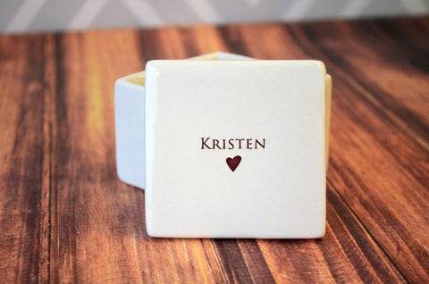 Maid of Honor Gift - Personalized Keepsake Box - With Gift Box