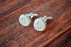 Personalized Cuff Links - Unique Father of the Bride Gift or Groomsmen Gift - Gift Boxed and Ready to Give
