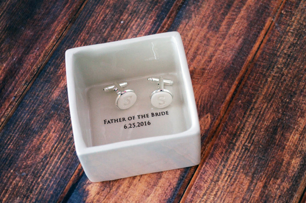 Personalized Cuff Links - With Initials, Father's Day Gift - Gift Boxed and Ready to Give