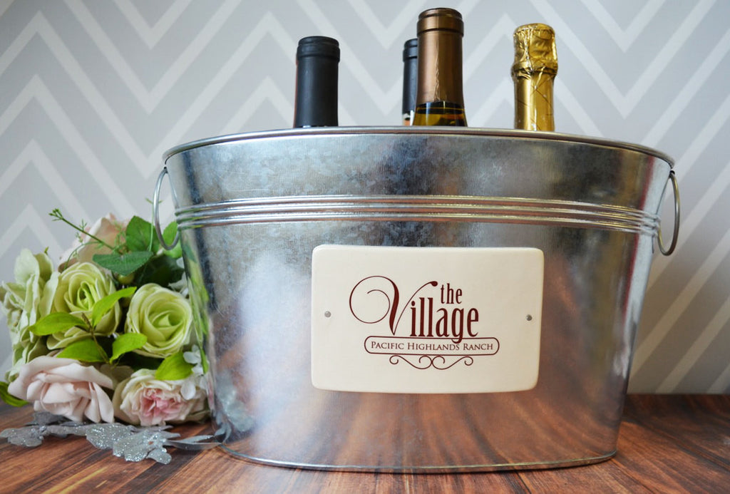 Personalized Gift - Large Beverage Tub with Logo