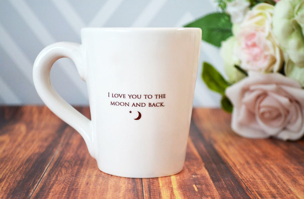 SHIPS FAST - I Love You to the Moon and Back - Coffee Mug
