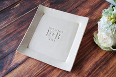 Personalized Platter - Wedding Gift, Anniversary Gift or Housewarming Gift - Gift boxed