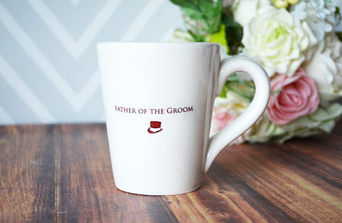 Unique Father of the Groom Gift - Father of the Groom Coffee Mug